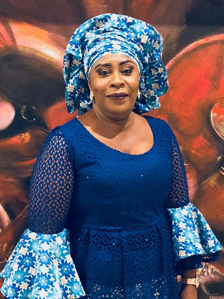 Hon. Dr. Fatoumata J. Ceesay.        Fmr, National Speaker, The Gambia National Assembly