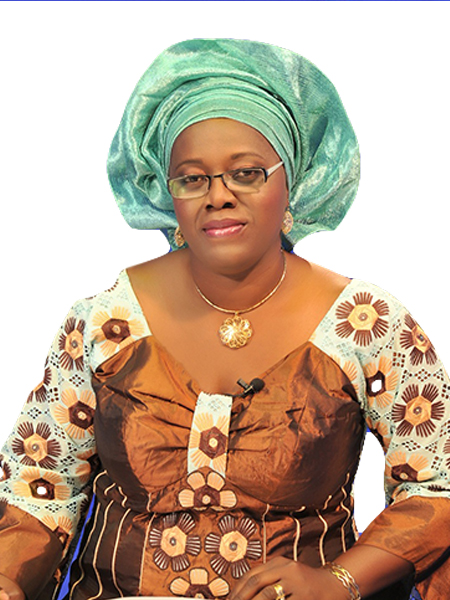 Mrs. Oluwatosin Dokpesi,          MD. African Independent Television