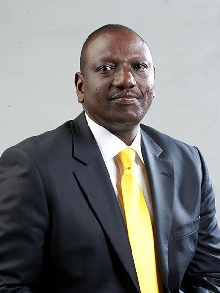 H.E. William K. Ruto (PhD)     Deputy President, Repulic of Kenya