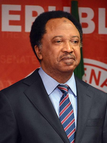 Sen. Shehu Sani                     Fmr. Lawmaker, Fed. Rep. Of Nigeria
