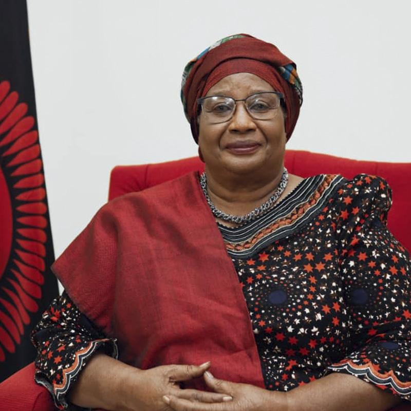 H.E. Joyce Banda